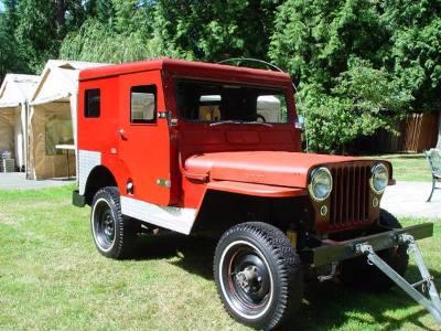 1950 Willy's CJ3A