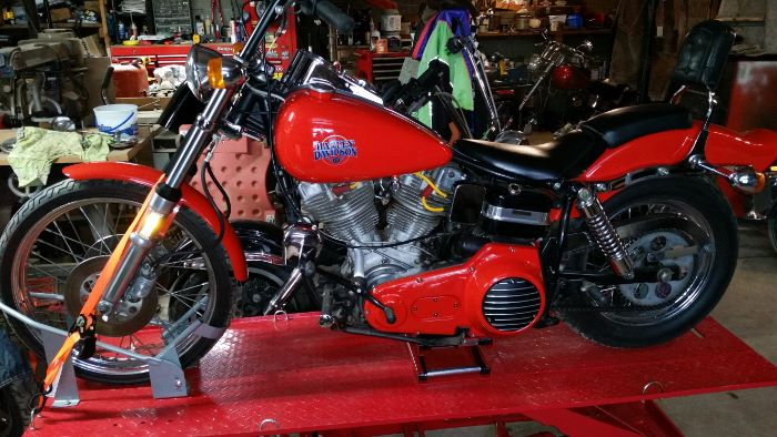 1980 Harley Davidson Wide Glide