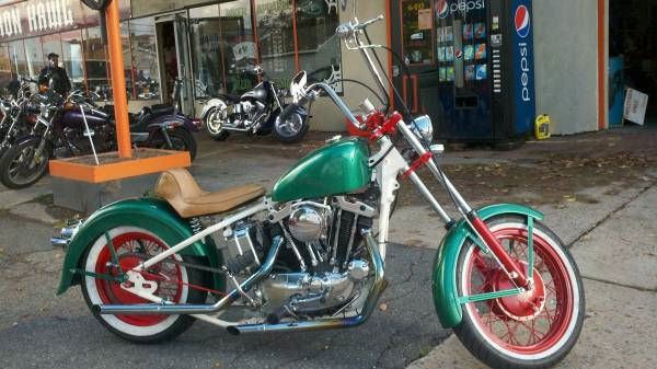 1974 Harley Davidson Ironhead
