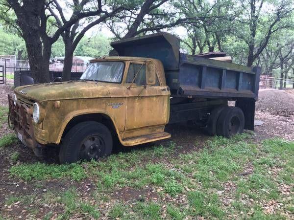 1965 Dodge 600 Dump Truck