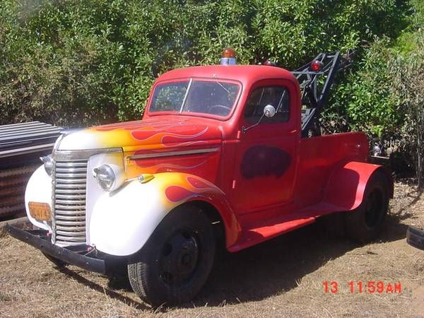 1940 Chevrolet Tow Truck