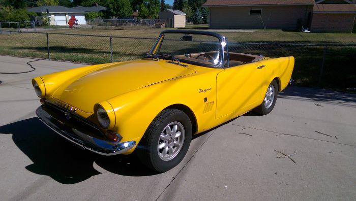 1966 Sunbeam Tiger Convertible