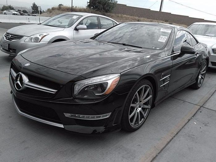 2013 Mercedes Benz Roadster SL 63
