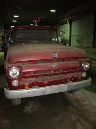 1957 Ford F600 Fire Truck