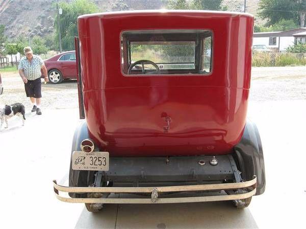 1926 Dodge Brothers Sedan 18