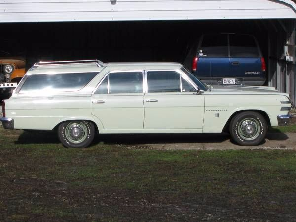 1966 AMC Ambassador Wagon