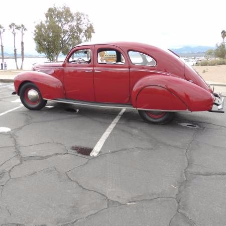 1938 Lincoln Zephyr 8