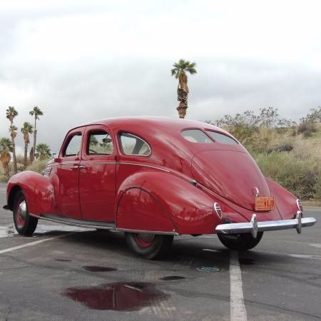 1938 Lincoln Zephyr 10