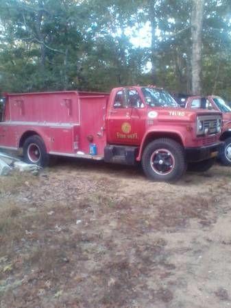 1976 Chevrolet Fire Truck 1
