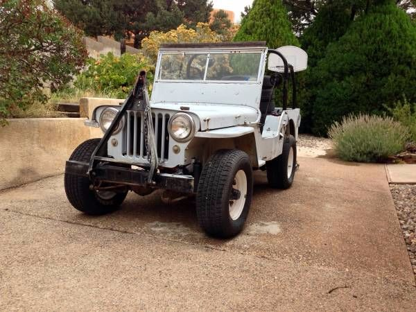 1947 Willy's Jeep CJ2A
