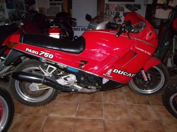 1987 Ducati 750 Paso