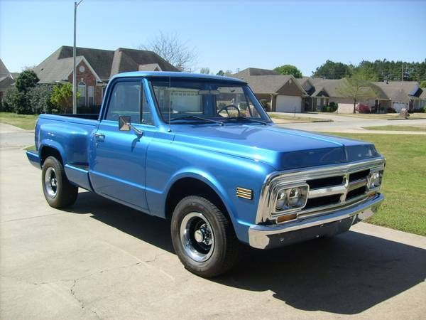 1970 GMC Shortbed