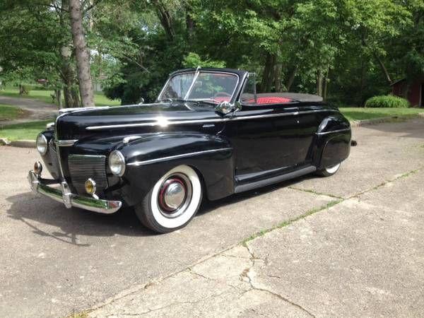 1941 Mercury Convertible 1