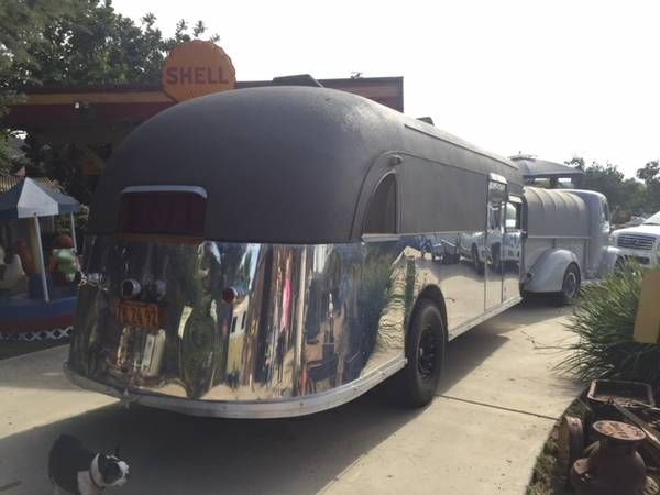 1939 Curtiss Aerocar Travel Trailer