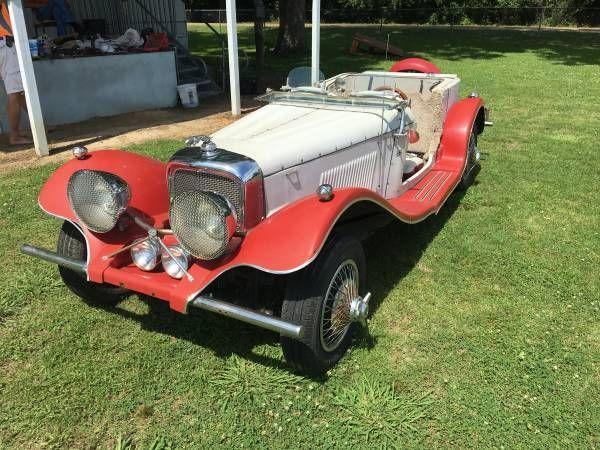1937 Jaguar SS100 Convertible