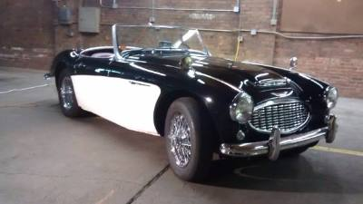 1959 Austin Healey 100-6 BN6 Roadster