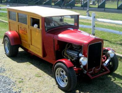 1933 International Panel Delivery Street Rod