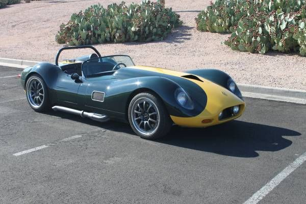1959 Lister SVO Convertible