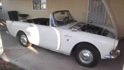 1967 Sunbeam Alpine Convertible