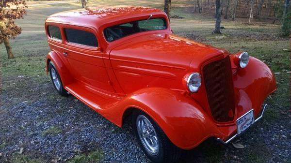 1935 Chevrolet Sedan 2