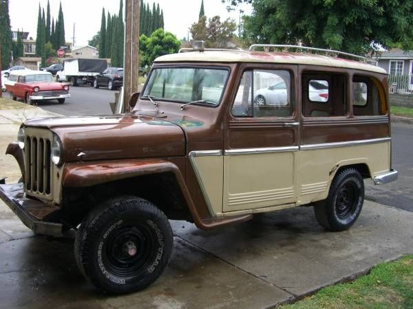 1961 Willy's Overland Wagon