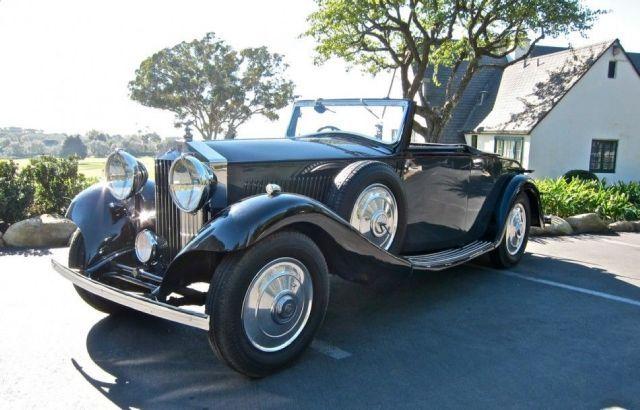 1933 Rolls Royce 20/25 12