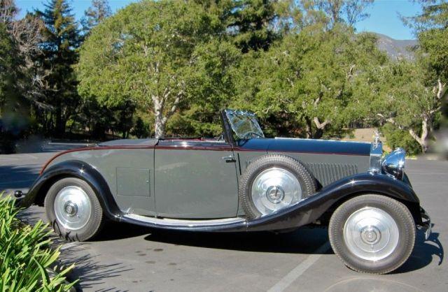 1933 Rolls Royce 20/25 2