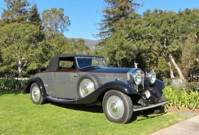 1933 Rolls Royce 20/25 4