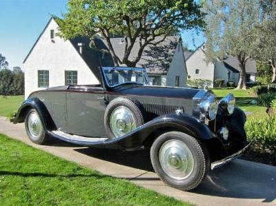 1933 Rolls Royce 20/25 Convertible