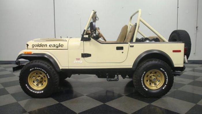 1978 Jeep CJ7 Golden Eagle