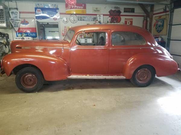 1941 Hudson Traveller Sedan