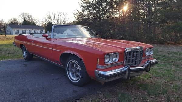 1974 Pontiac Grandville Convertible