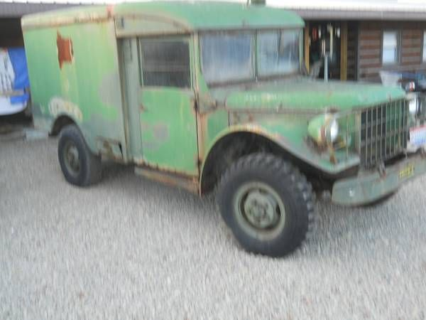1955 Dodge Power Wagon Military Ambulance