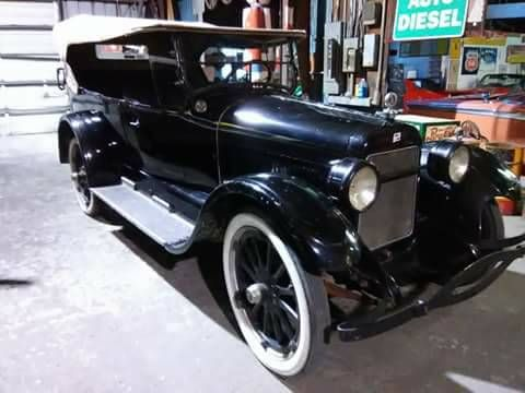 1924 Buick Touring Sedan Convertible