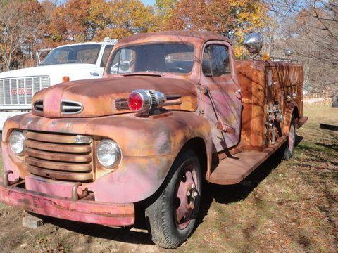 1949 Ford F5 Fire Truck