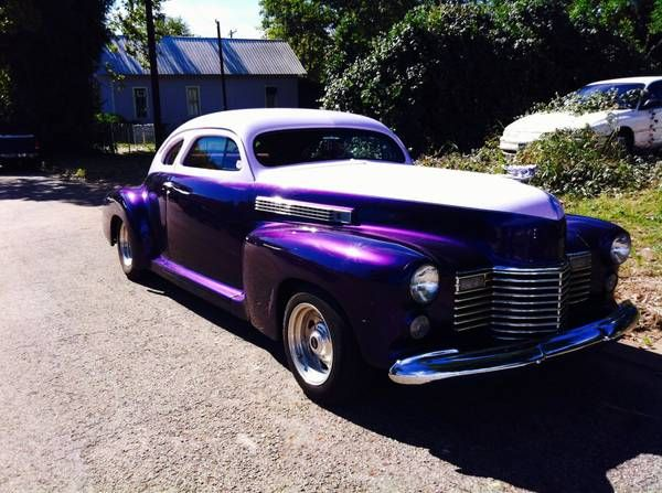 1941 Cadillac Fast Back Coupe