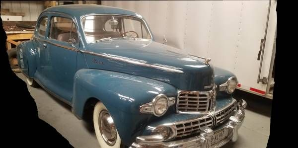 1947 Lincoln Business Coupe 1