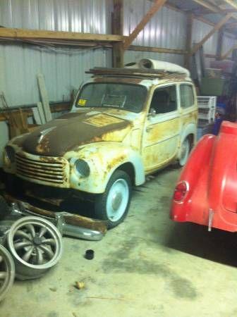 1952 Fiat Topolino Woody Wagon