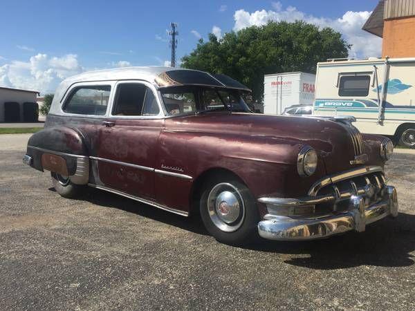 1950 Pontiac Hearse