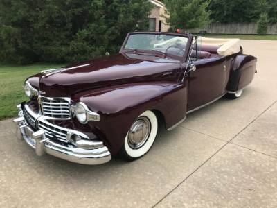 1948 Lincoln Continental Convertible
