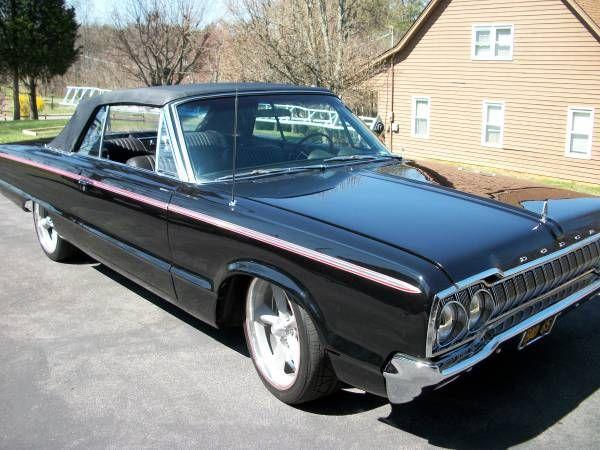 1965 Dodge Custom 880 Convertible