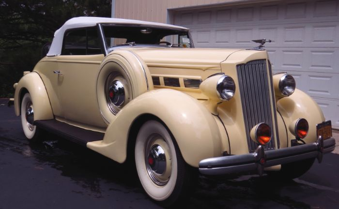 1937 Packard 120 Roadster
