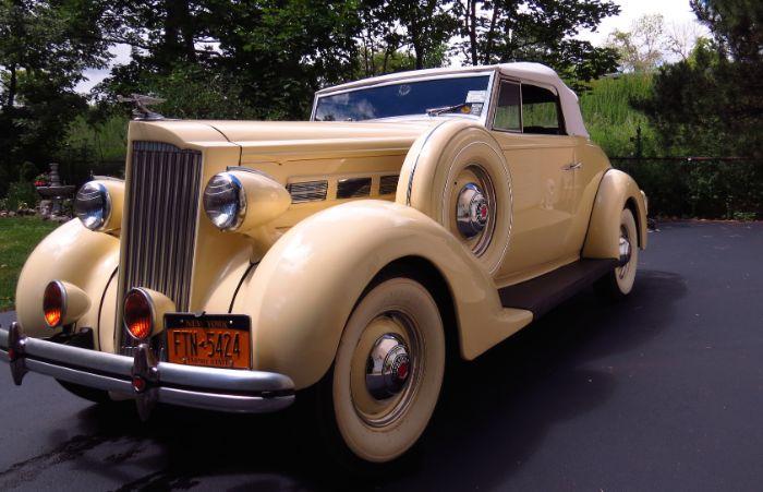 1937 Packard 120 12