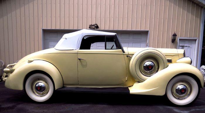 1937 Packard 120 8
