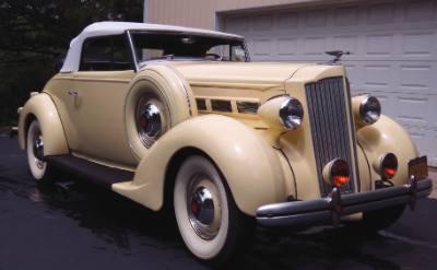 1937 Packard 120 Roadster