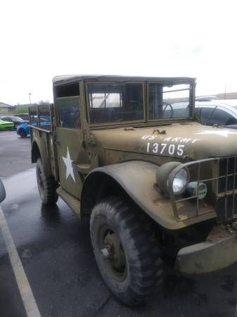 1951 Dodge M37 Weapons Carrier