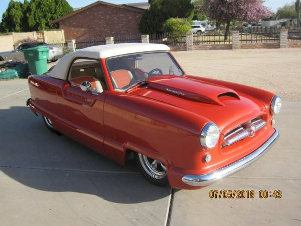 1954 Hudson Metropolitan Convertible