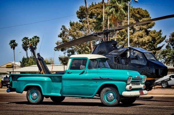 1958 Chevrolet 3200 Apache