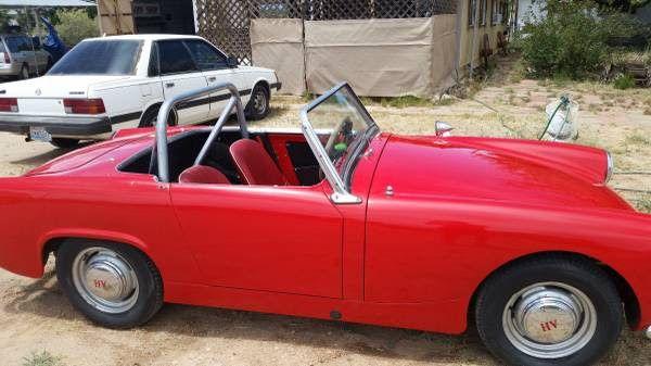 1961 Austin Healey Sprite Convertible