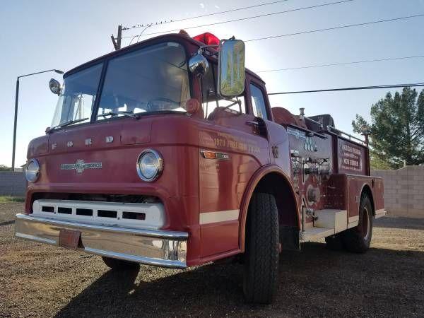 1970 LaFrance Fire Truck